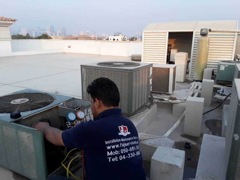 Residential and Commercial AC | AC Service in Dubai | FAJ Services